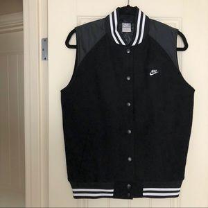 ✨NEW✨ Nike Womens Sample Sleeveless Sport Jacket